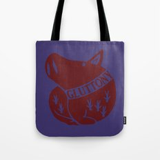 The Boar's Sin of Gluttony Tote Bag
