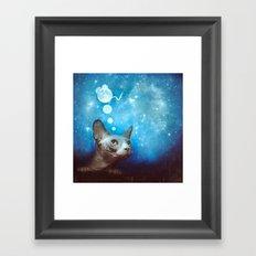 Night Dreamer Framed Art Print
