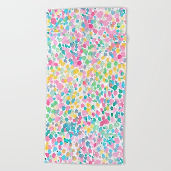 Lighthearted Summer Beach Towel