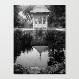 Reflection in the Garden Canvas Print