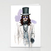 dracula Stationery Cards featuring Dracula by Myrtle Quillamor