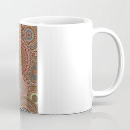 Mandala Mania-Vintage colors Coffee Mug