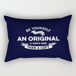 Always Be Yourself Rectangular Pillow