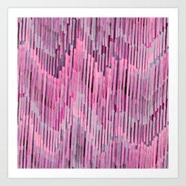 Pink Madness Art Print