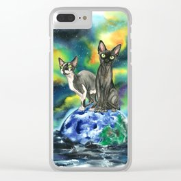The arrival sphinx version Clear iPhone Case