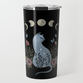Cat on the Hill Travel Mug