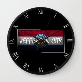 Jefferson City Wall Clock