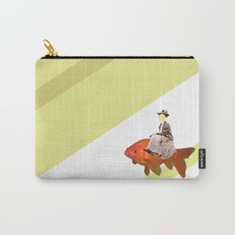 Sidesaddle on a goldfish Carry-All Pouch