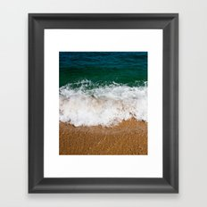 Ocean Shore Framed Art Print