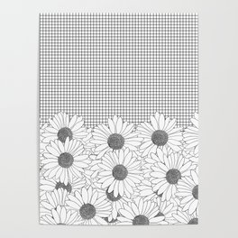 Daisy Grid Poster