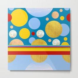 Abstractions No. 4: Polka Dot Circus Metal Print