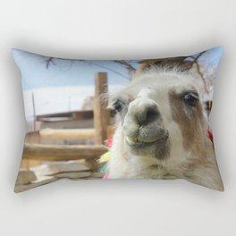 Lhama Rectangular Pillow