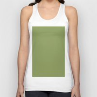 moss Tank Tops featuring Moss green by List of colors