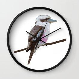 Kookaburra, Kingfisher Bird Wall Clock