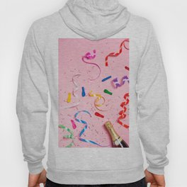 Pink Champagne Party Hoody