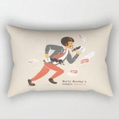Monday Sports Rectangular Pillow