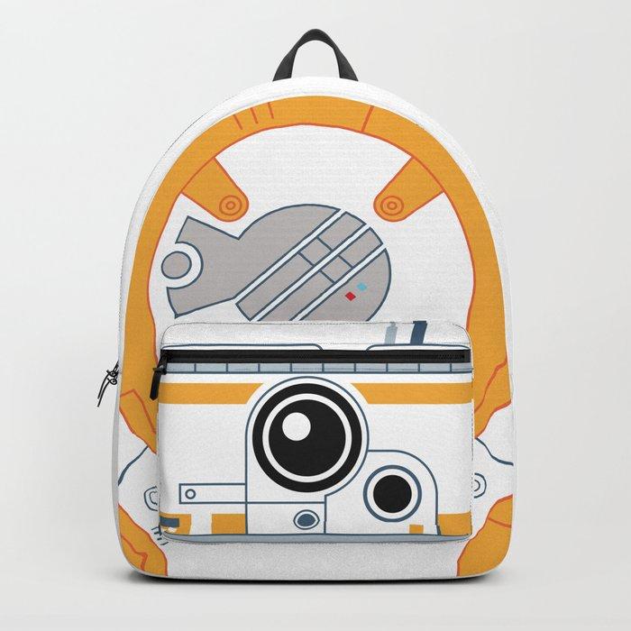 Minimal BB8 Droid Backpack