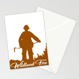 WILDLAND FIREFIGHTER #14 Stationery Cards