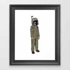 Boba Steez Framed Art Print