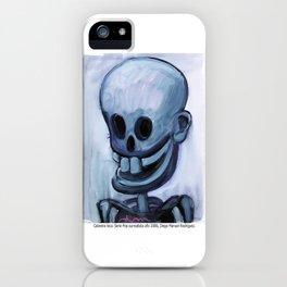Calavera loca iPhone Case