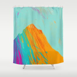 Beyond The Mountain Shower Curtain