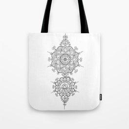 Mendi Mandala Madness  Tote Bag