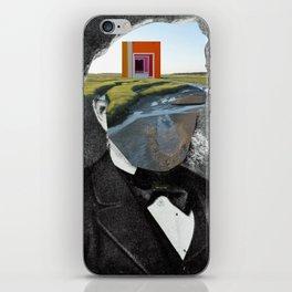 Draußen, vor der Tür iPhone Skin