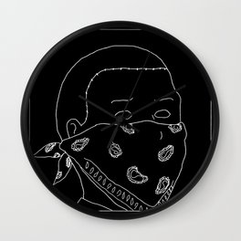 Bandana Boy Wall Clock