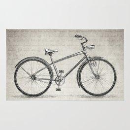 Albert Einstein Bicycle Quote Rug