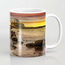 St Cwyfan Sunset Coffee Mug