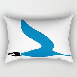 The Blue Goose Rectangular Pillow