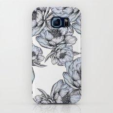 floating flowers Galaxy S7 Slim Case