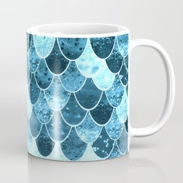 REALLY MERMAID SILVER BLUE Coffee Mug