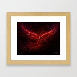 The Phoenix Rise Framed Art Print