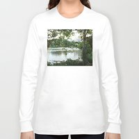 central park Long Sleeve T-shirts featuring Central park by ChaunceyInk