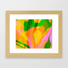 Digital Abstract #3 Framed Art Print