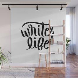 Writer Life Wall Mural
