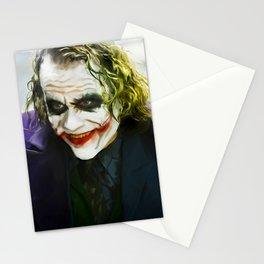 The Joker (TDK) Digital Painting  Stationery Cards