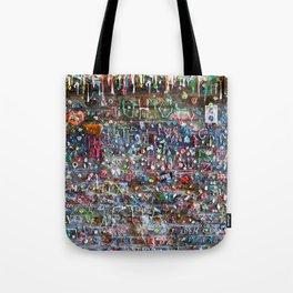 Gum Wall Tote Bag