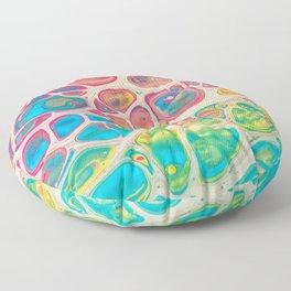The Rainbow Painted Giraffe Floor Pillow