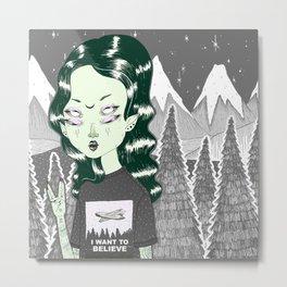 ☽ ZELINA ☾ Metal Print