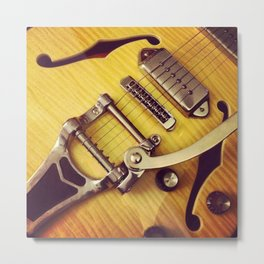 Wild Nights - Guitar Metal Print