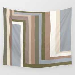 Abstract Neutrals III Wall Tapestry