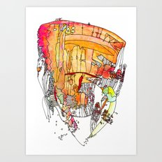 Frangelica Art Print