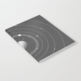 Rings of Saturn Notebook