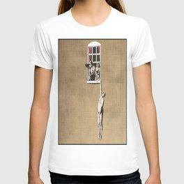 Banksy - Council Building, Bristol T-shirt