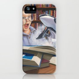 Where Books Come to Life iPhone Case