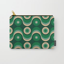 70s Optical Wallpaper Carry-All Pouch