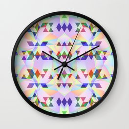 Lilac tribomb Wall Clock