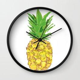 Statement Pineapple Wall Clock